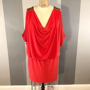 Cache dress paid $140 size Large with open back